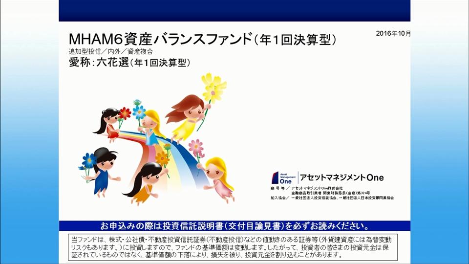 MHAM6資産バランスファンド(年1回決算型)【愛称:六花選(年1回決算型)】
